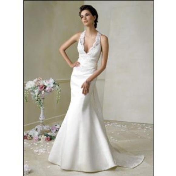 Jim Heljm Wedding Dresses.Jim Hjelm Wedding Gown Nwt